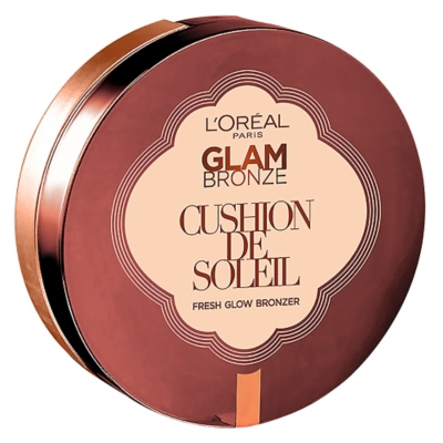 Base de Maquillaje Glam Bronze Cushion Soleil
