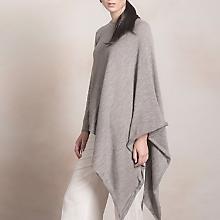 Sweater Tipo Poncho de Baby Alpaca