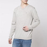 Sweater En V Liso