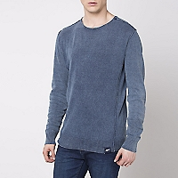 Sweater Cuello Redondo Liso