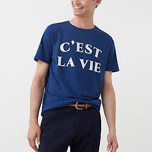 Camiseta Texto Estampado