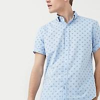 Camisa Slim-Fit Estampada