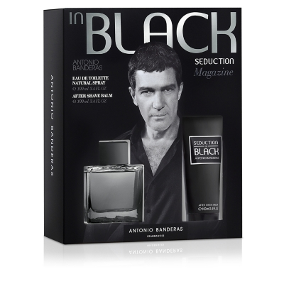 Seduction Black EDT 100 ML + Aftershave 100 ML