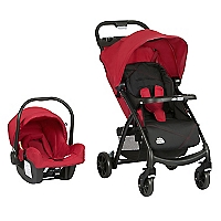 Coche Travel System Muze Cherry