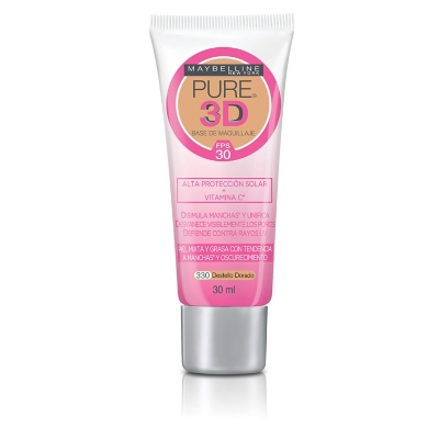 Base de Maquillaje Pure 3D Radiante