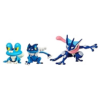 Pack Figura Coleccionables Froakie Frogadier Gr