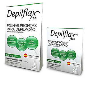 Pack Bandas Depilatorias Menta