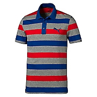 Polera Polo Sports Stripe Jersey Roja