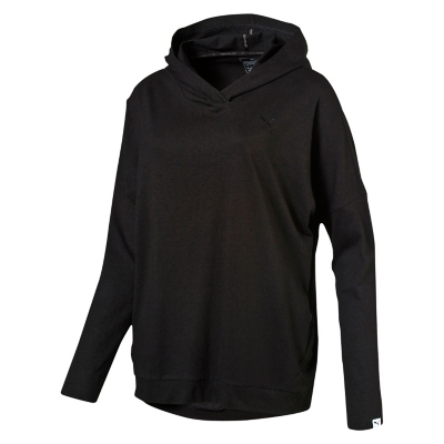 Polerón Ess Hooded Cover Up W Negro