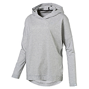 Polerón Ess Hooded Cover Up W Gris