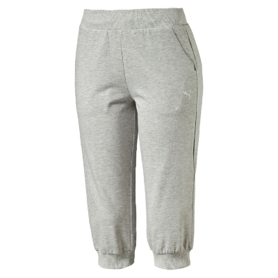 Pantalón Ess Capri Sweat Gris