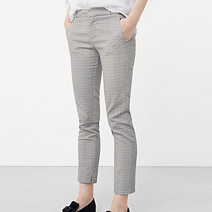 Pantalón Algodón Estampado