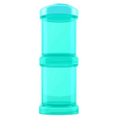 Contenedor 100 ml 2 un Turquesa