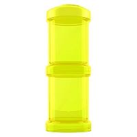 Contenedor 100 ml 2 un Amarillo