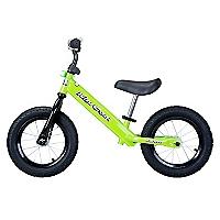 Bicicleta Acero Sin Pedales Verde