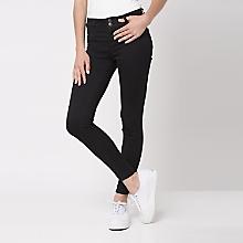 Jeans Liso Tiro Alto