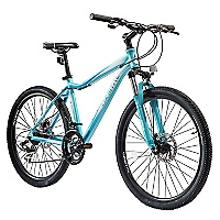 Bicicleta Aro 26 Evolution 26 Celeste