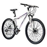 Bicicleta Aro 26 Evolution 26 Blanco /Morado