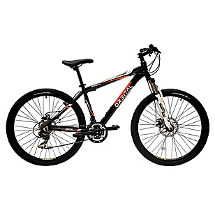 Bicicleta Aro 27,5 Mystic 275 Negro/Naranjo