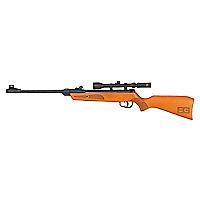 Rifle Young Explorer Bg 4.5Mm+4X28T