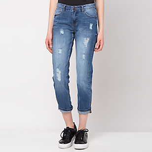 Jeans Destroyed Relaxed Fit-Paula