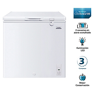 Freezer Horizontal Dual 198 lt FDHM200BY0