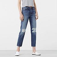 Jeans Rasgados Girlfriend