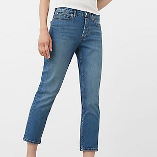 Jeans Straight Crop Retro