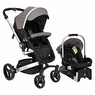 Coche Travel System Blend Gris