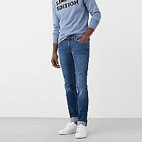 Jeans Jan Slim Fit Lavado Medio