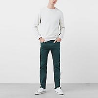 Pantalón Slim-Fit Garment-Dyed