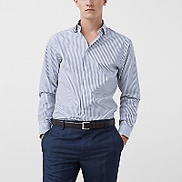 Camisa Tailored Slim-Fit Rayas Kodak