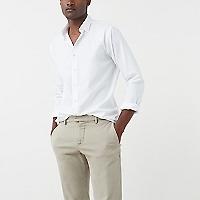 Camisa Slim-Fit Algodón Piqué