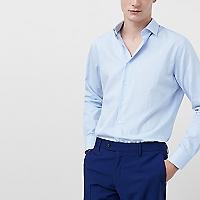 Camisa Tailored Slim Fit Mil Rayas