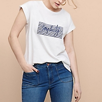 Camiseta Algodón Mensaje