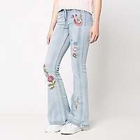 Jeans Palazzo Flores
