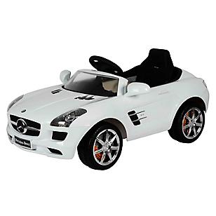 Auto eléctrico SLS Blanco