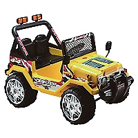 Jeep Doble Asiento Amarillo
