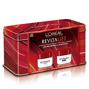 Set Tratamiento de Piel Revitalift Día SPF 30 + Revitalift Noche
