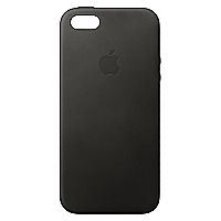 Carcasa iPhone SE Cuero Black