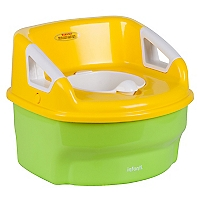 Asiento Ba�o 3 En 1 Potty Green