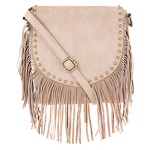 Cartera Cruzada V1603 Fringe Cross