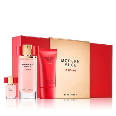 Set Modern Muse Le Rouge EDP 50 ML + Body Lotion 75 ML +  Miniatura