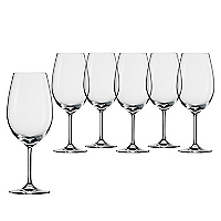 Set 6 Copas Bordeaux Ivento