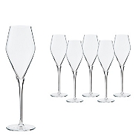 Set 6Copas Champagne Estelle