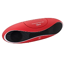 Mini Parlante Pro Bluetooth con Radio FM Red 6566