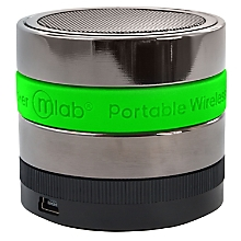 Mini Parlante Pro Bluetooth con Radio FM Verde 6130