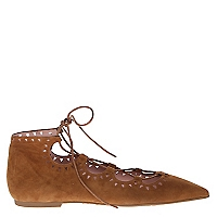 Ballerina Mujer Lace Up Texas