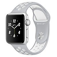 Watch Nike +  38 mm Silver/White