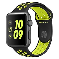 Watch Nike +  42 mm  Black/Volt